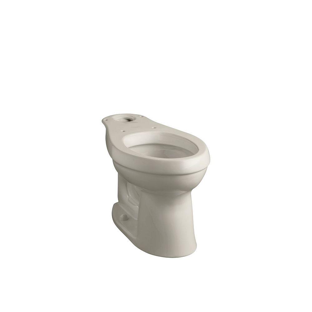 KOHLER Cimarron Comfort Height Elongated Toilet Bowl with Class Five Flushing Technology