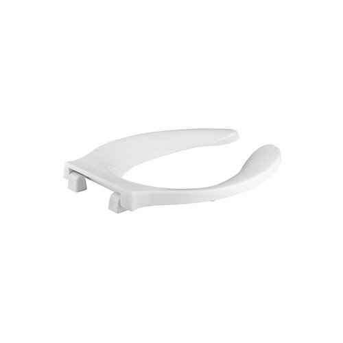 Stronghold Elongated Toilet Seat with Check Hinge