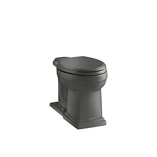Tresham Comfort Height Elongated Toilet Bowl Only in Thunder Grey