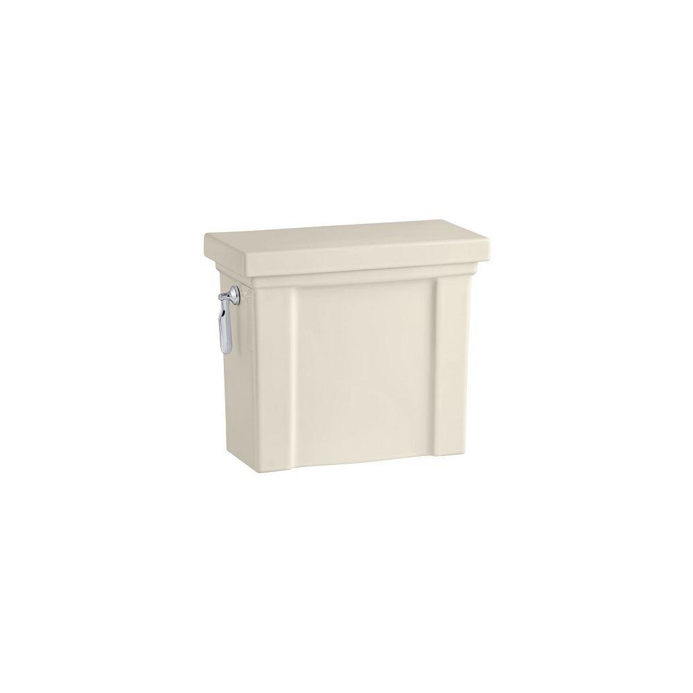 KOHLER Tresham 4.8 LPF Single-Flush Toilet Tank Only in Almond
