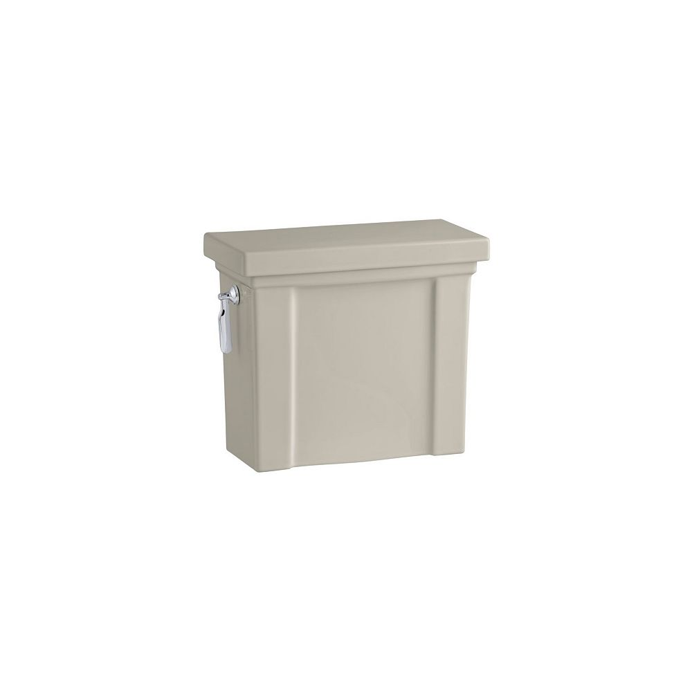 KOHLER Tresham 1.28 GPF Single Flush Toilet Tank Only in Sandbar