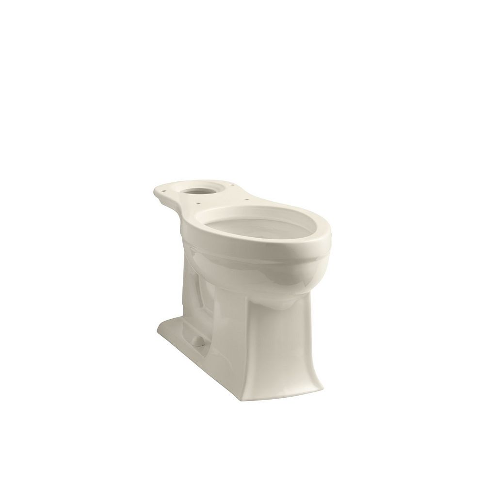 KOHLER Archer Comfort Height Elongated Toilet Bowl Only in Almond