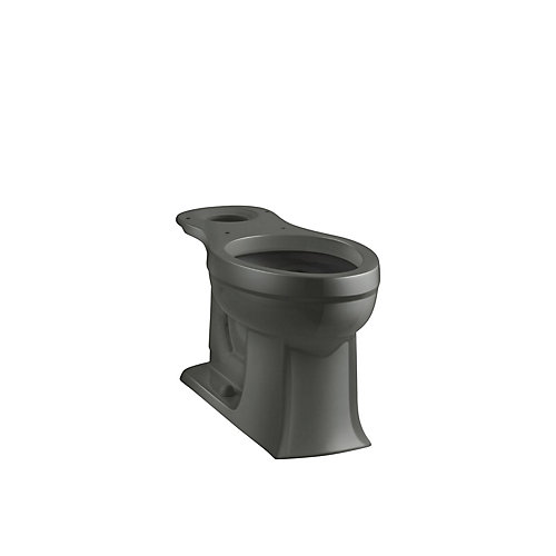 Archer Elongated Bowl Toilet Bowl Only in Grey
