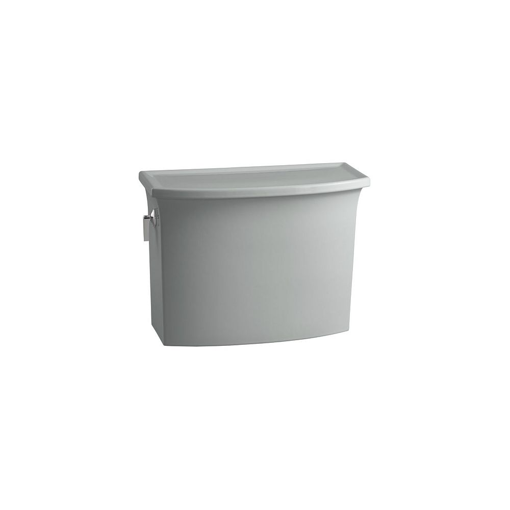 KOHLER Archer 1.28 GPF Single Flush Toilet Tank Only in Ice Grey
