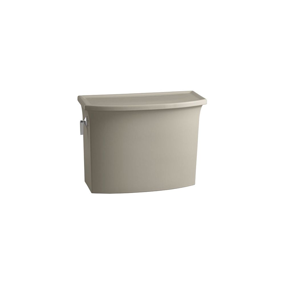 KOHLER Archer 4.8 LPF Single-Flush Toilet Tank Only in Sandbar