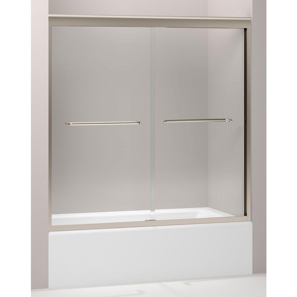KOHLER Fluence(R) 3/8 Inch Thick Glass Bypass Bath Door