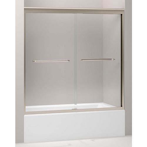 KOHLER Fluence(R) 3/8 Inch Thick Glass Bypass Bath Door