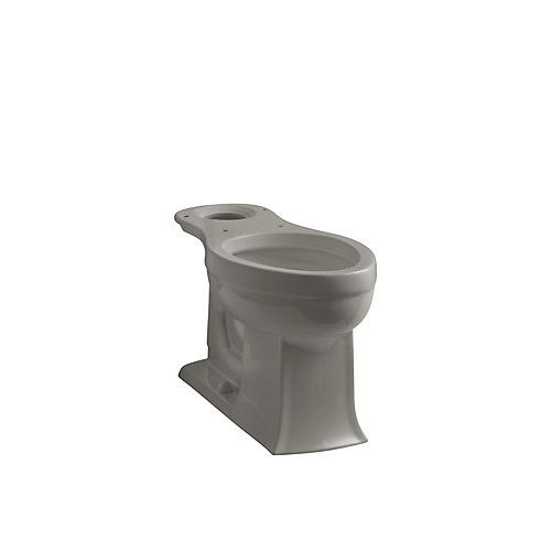 Archer Comfort Height Elongated Toilet Bowl Only in Cashmere