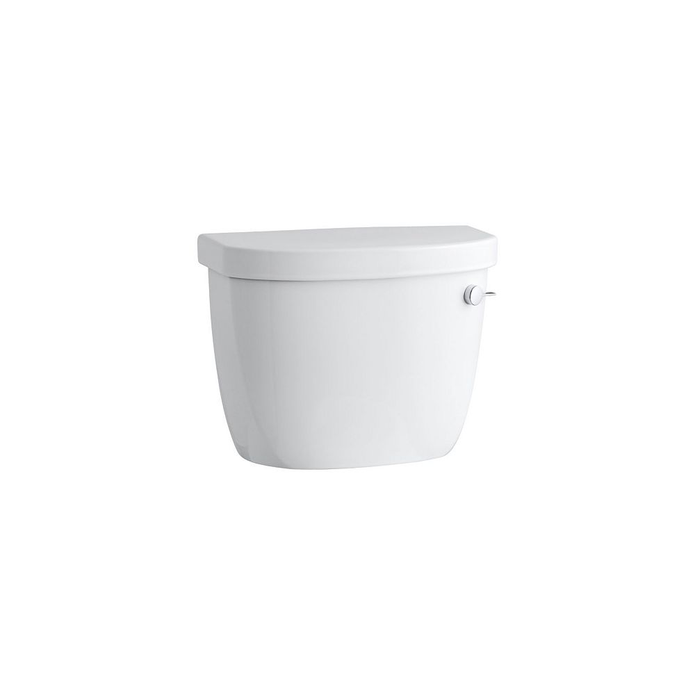 KOHLER Cimarron 1.28 GPF Single Flush Toilet Tank Only with Right-Hand Trip Lever
