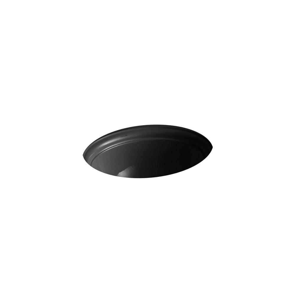 KOHLER Devonshire(R) 18-1/8 inch under-mount bathroom sink