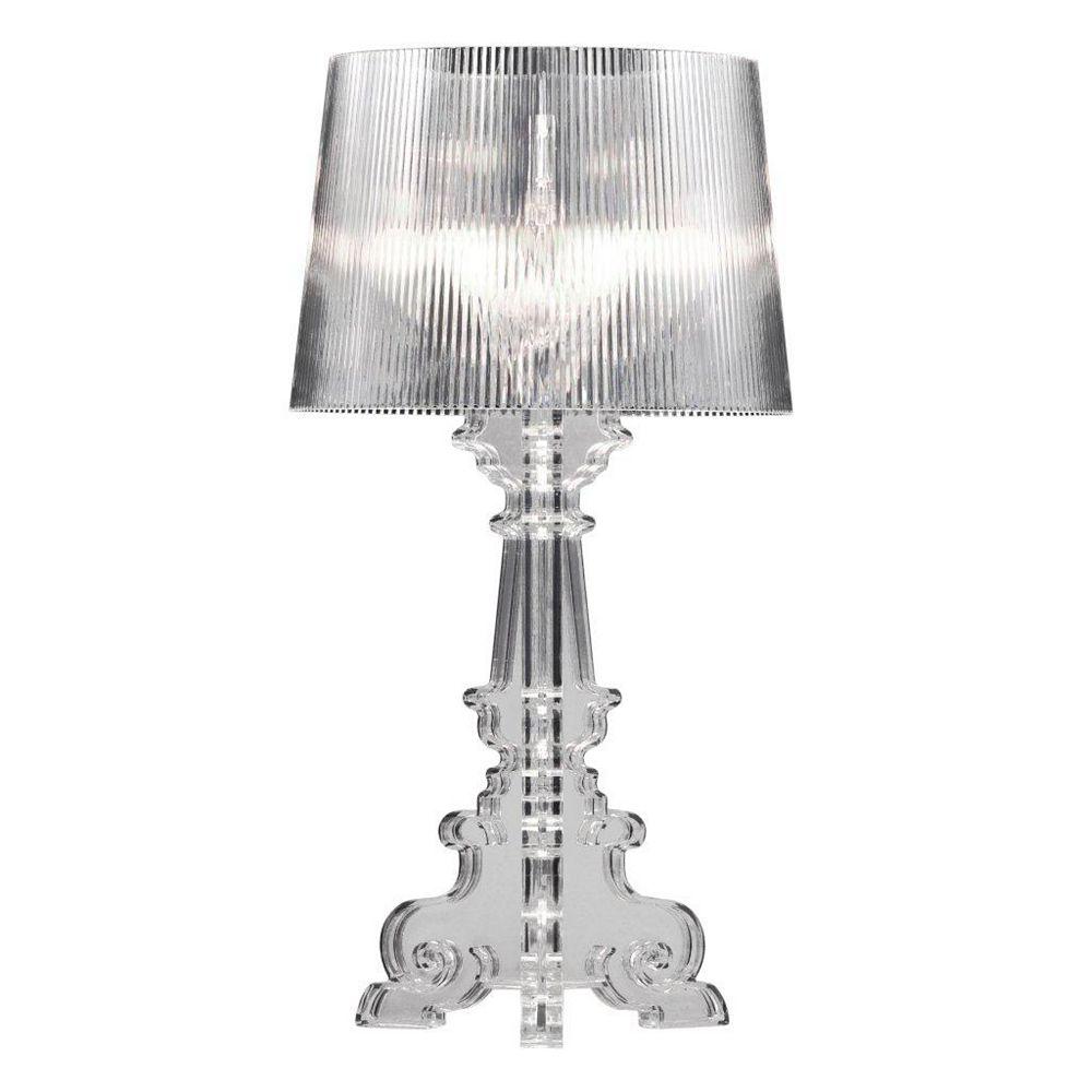 Zuo Modern Salon L Table & Desk Lamp Clear
