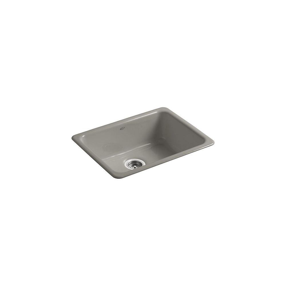 KOHLER Iron/Tones(R) Self-Rimming (24-1/4 Inch X 18-3/4 Inch) Or Undercounter (21-1/4 Inch X 15-3/4 Inch) Kitchen Sink