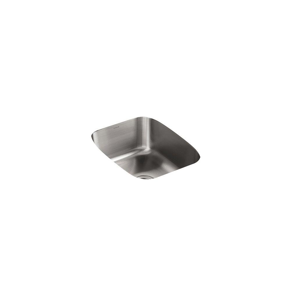 KOHLER Undertone(R) Large Undercounter Kitchen Sink With 7-5/8 Inch Deep Basin