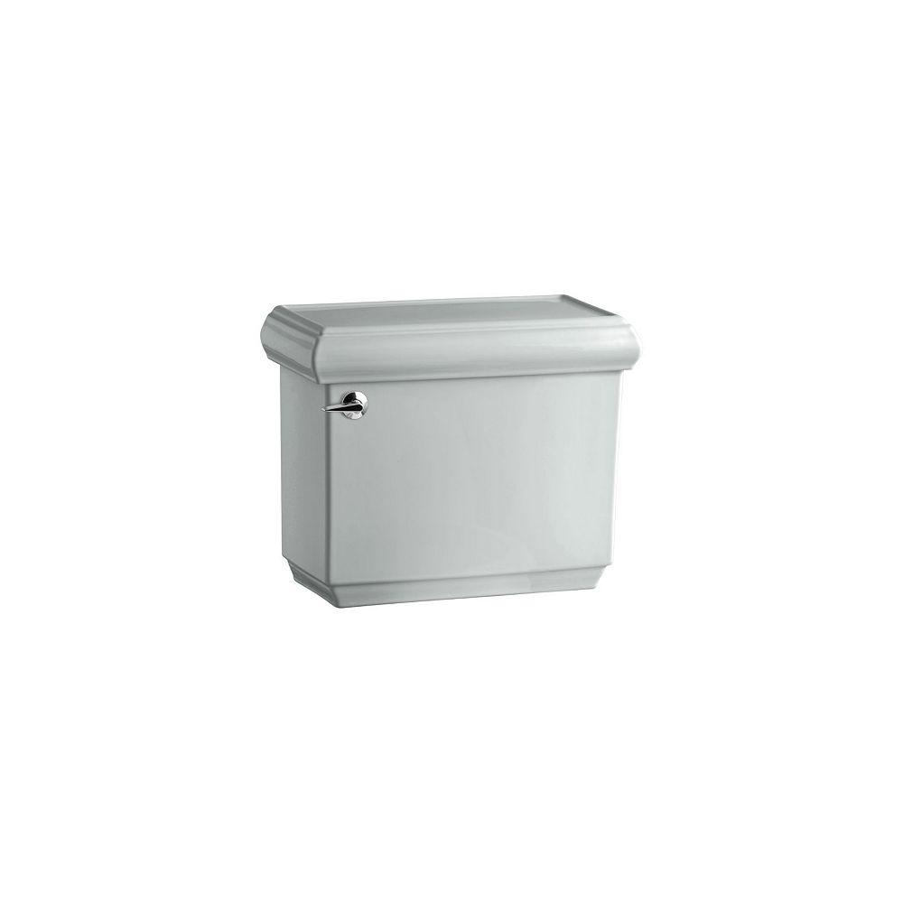 KOHLER Memoirs 1.28 GPF Single Flush Toilet Tank Only with AquaPiston Flushing Technology in Ice Grey
