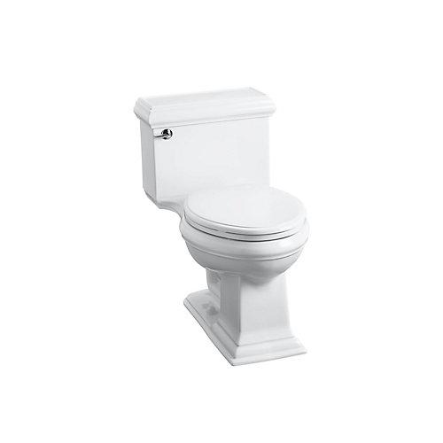 Memoirs 4.8 LPF 1-Piece Single-Flush Elongated Bowl Toilet in White