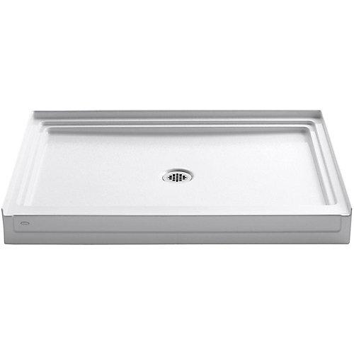 Tresham 48-inch x 36-inch Single Threshold Shower Base in White