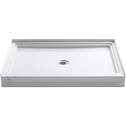 KOHLER Tresham 48-inch x 36-inch Single Threshold Shower Base in White