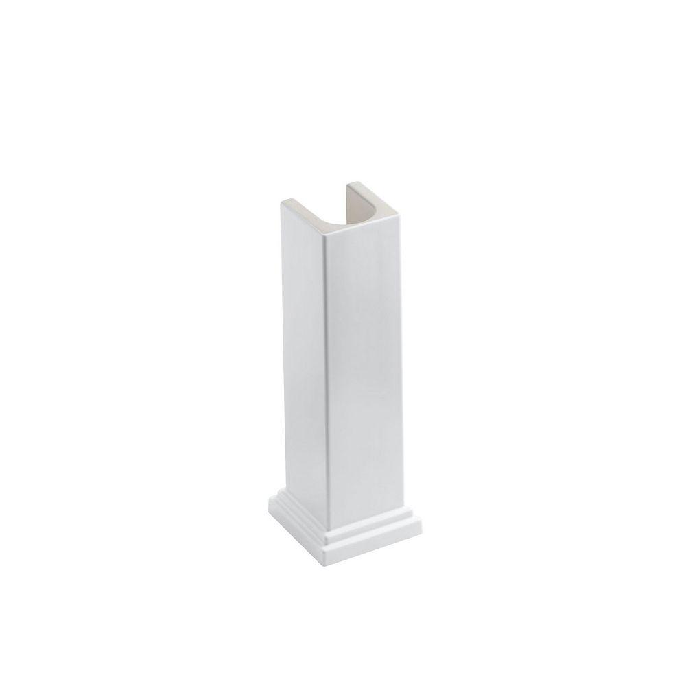 KOHLER Tresham 28 in. H Sink Pedestal in White