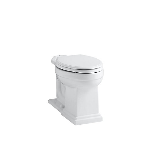 Tresham Comfort Height Elongated Toilet Bowl Only in White