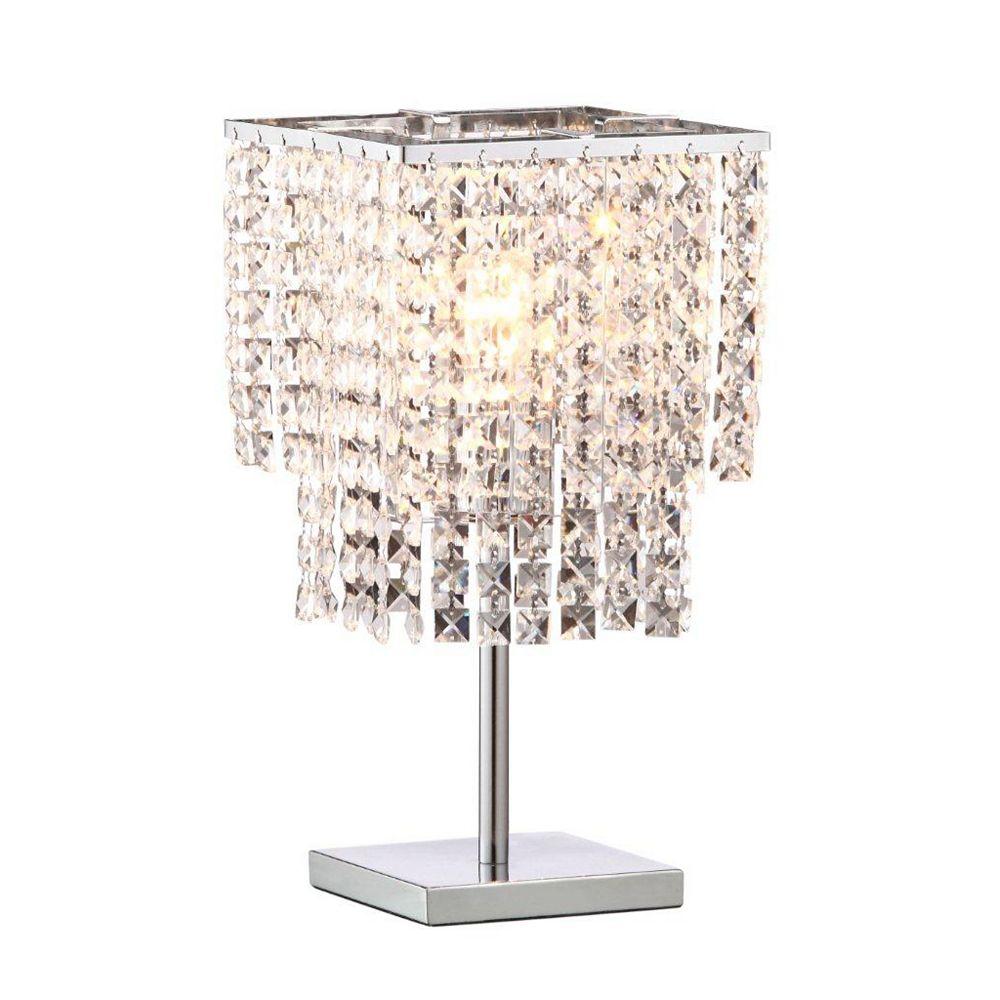 Zuo Modern Lampe de Table Falling Stars  Chrome
