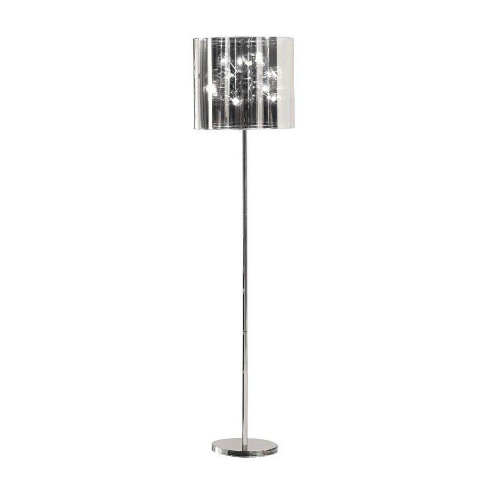 Zuo Modern Lampe sur Pied Quasar Chrome