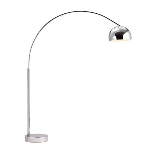 80-inch Galactic Floor Lamp in Chrome