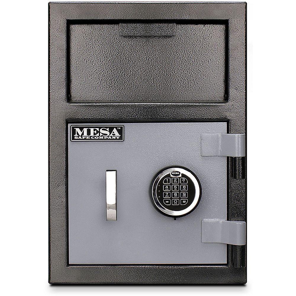 Mesa Safe Company All Steel MFL2014E 0.8 cu. ft. Capacity Depository Safe