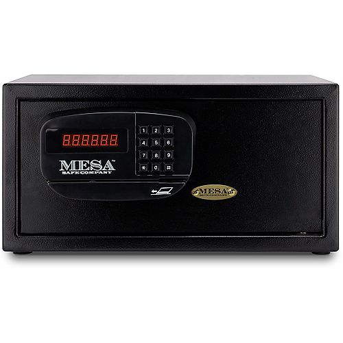 All Steel MHRC916E-BLK 1.2 cu. ft. Capacity Residential & Hotel Safe