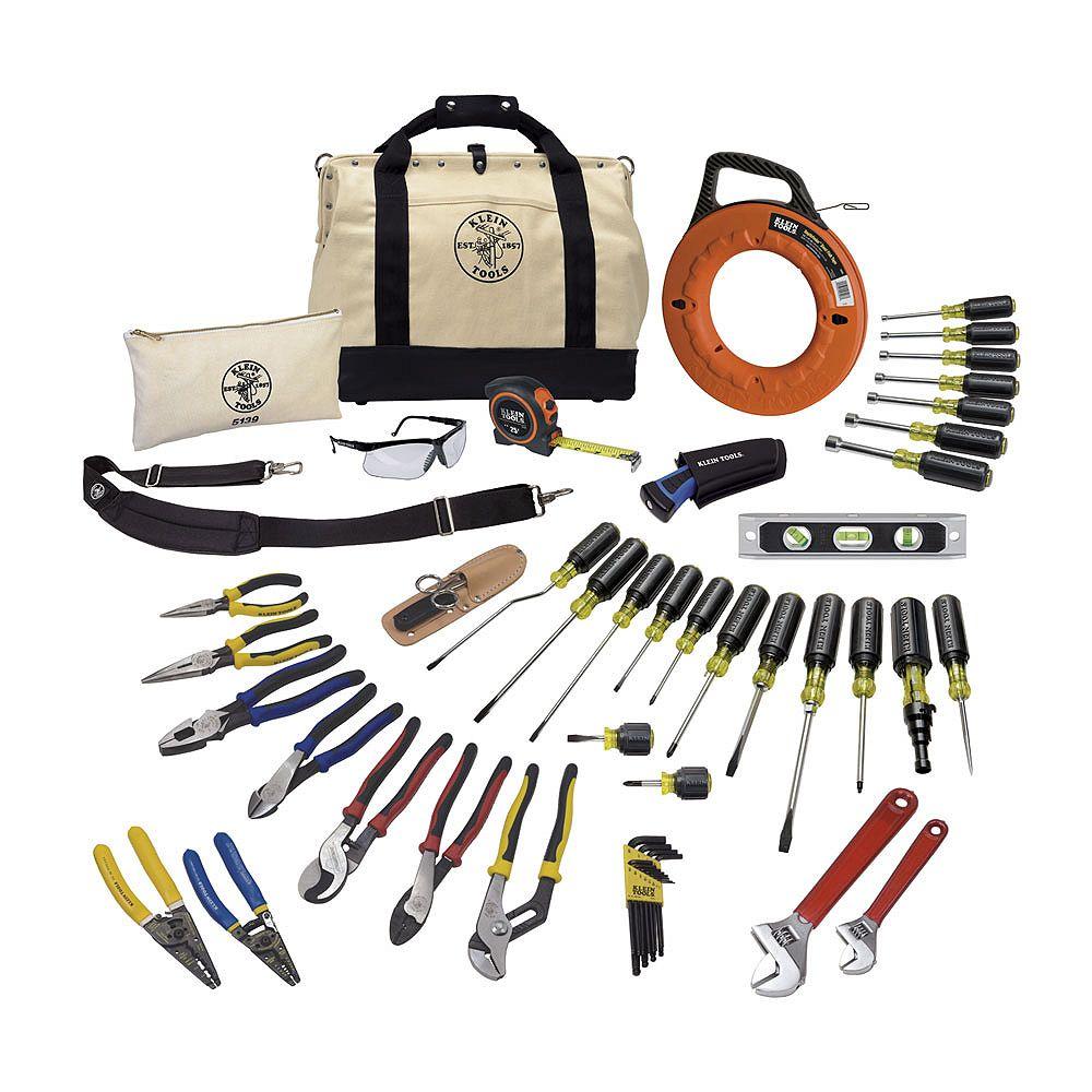 Klein Tools Journeyman Tool Set (41-Piece)