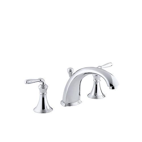 """Devonshire(R) deck-/rim-mount bath faucet trim for high-flow valve with 8-15/16"""" diverter spout"""