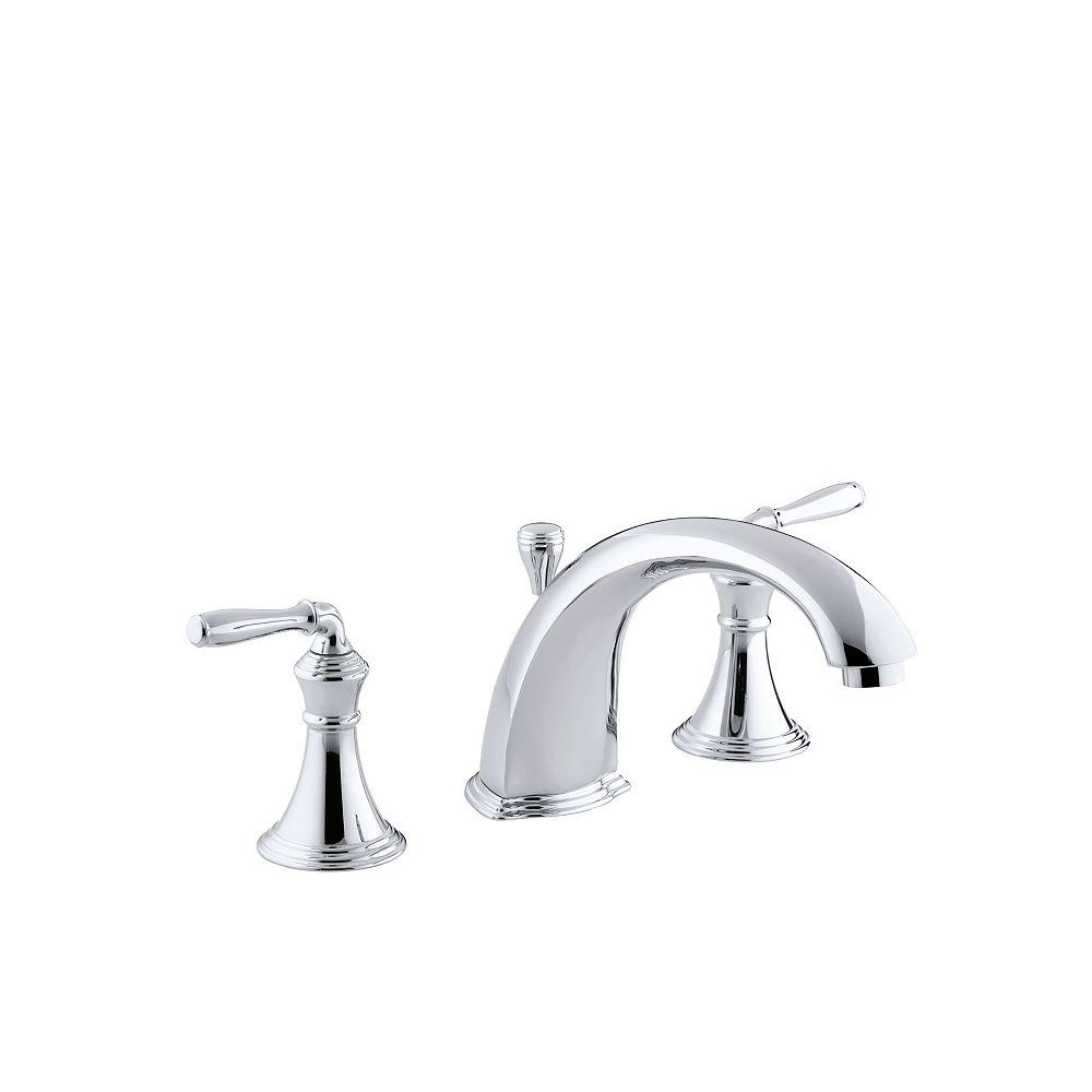 """KOHLER Devonshire(R) deck-/rim-mount bath faucet trim for high-flow valve with 8-15/16"""" diverter spout"""