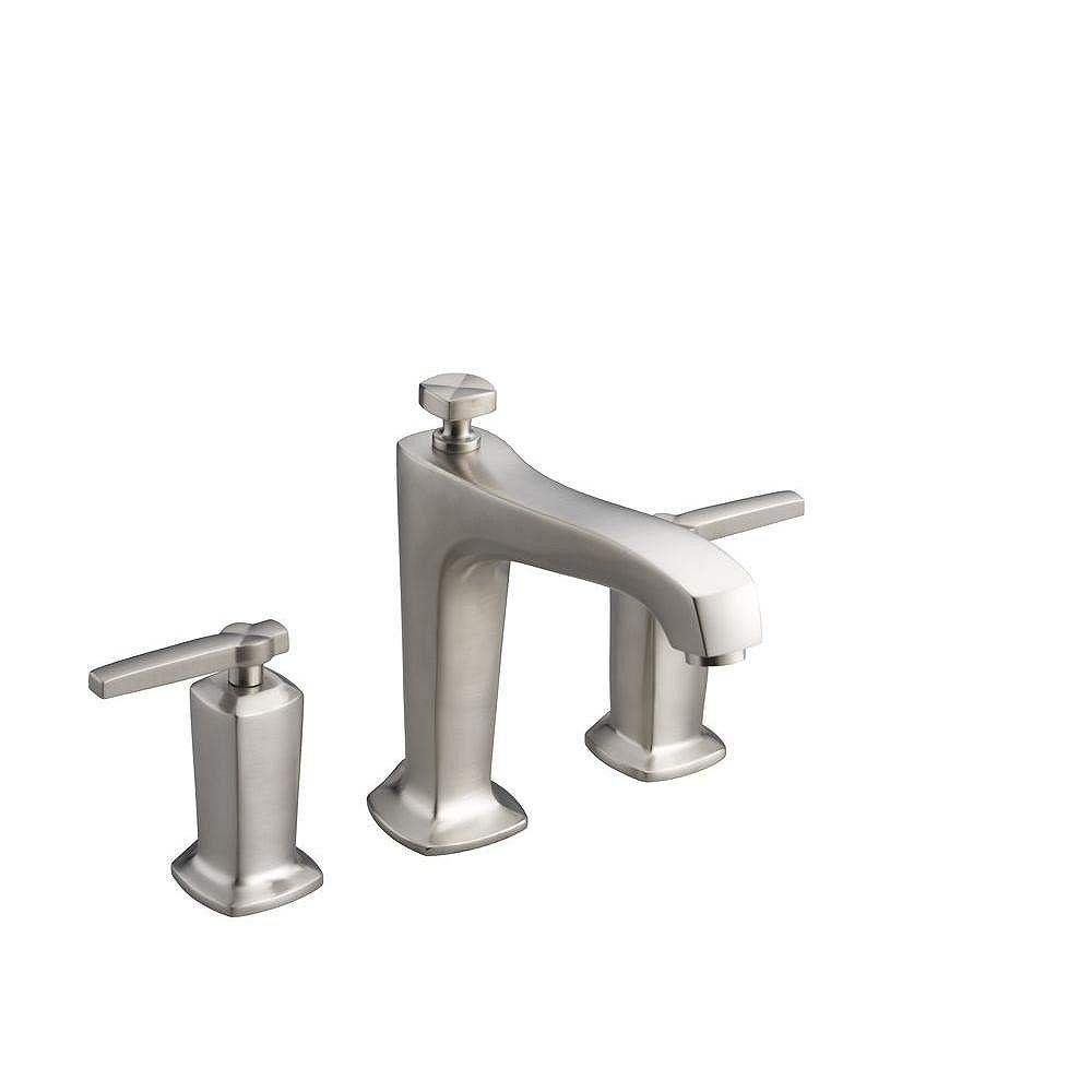 KOHLER Margaux(R) deck-mount bath faucet trim for high-flow valve with non-diverter spout