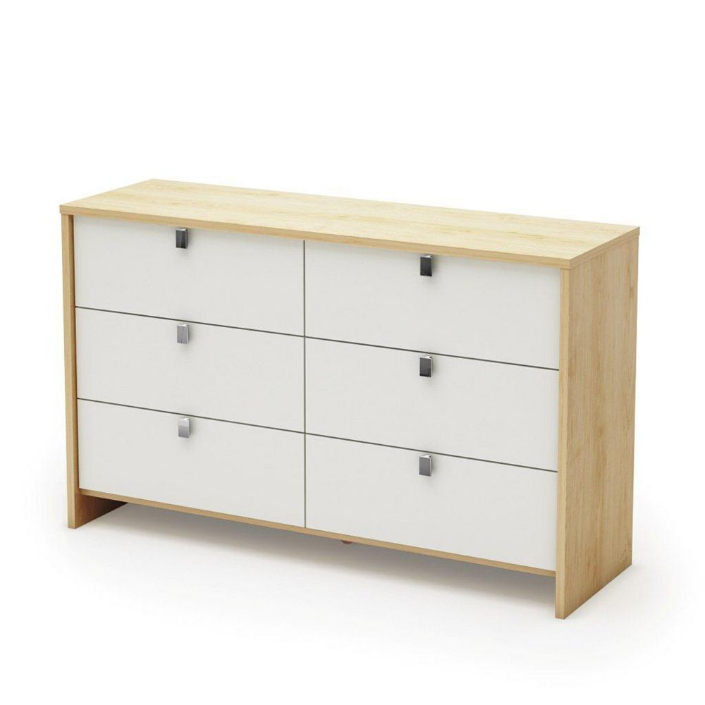 South Shore Cookie Dresser Champagne & White