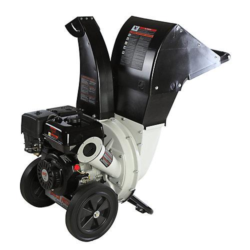 2.25-inch Dia 6.5 HP 208cc Feed, Versatile 3-in-1 Discharge Chute Chromium Chipper Shredder