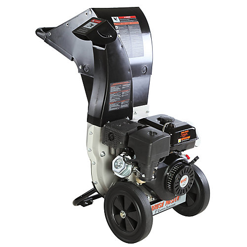 3-inch Dia 270cc Feed, Unique and Versatile 3-in-1 Discharge, Chromium Chipper Shredder