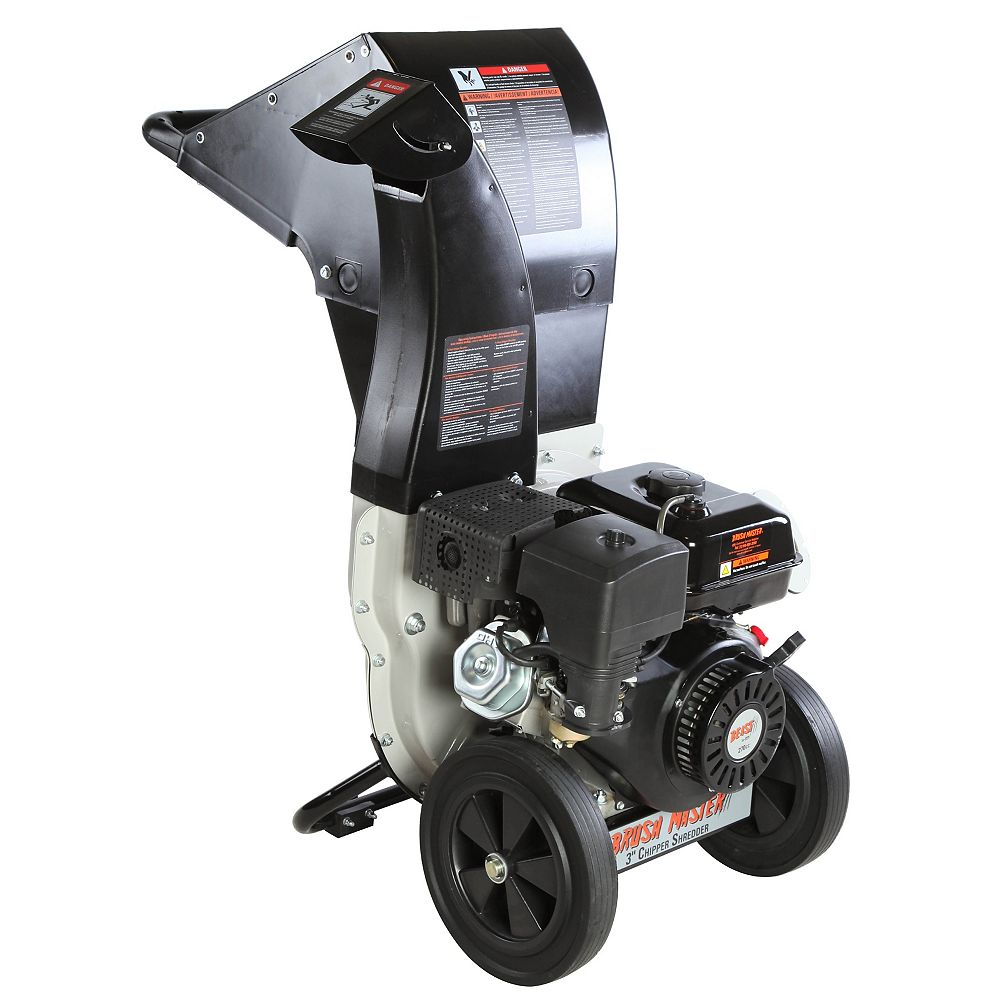 Beast 3-inch Dia 270cc Feed, Unique and Versatile 3-in-1 Discharge, Chromium Chipper Shredder