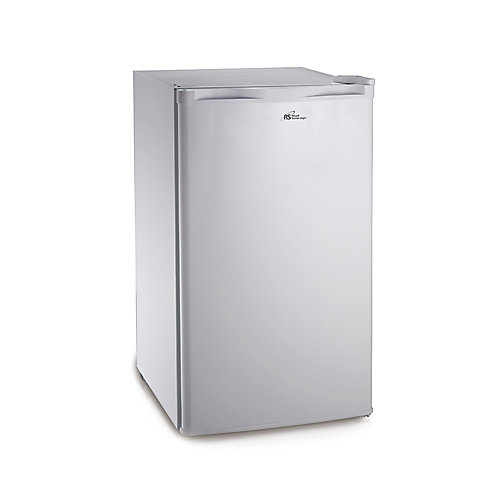 2.6 cu. ft. Compact Refrigerator with Reversible Door in White