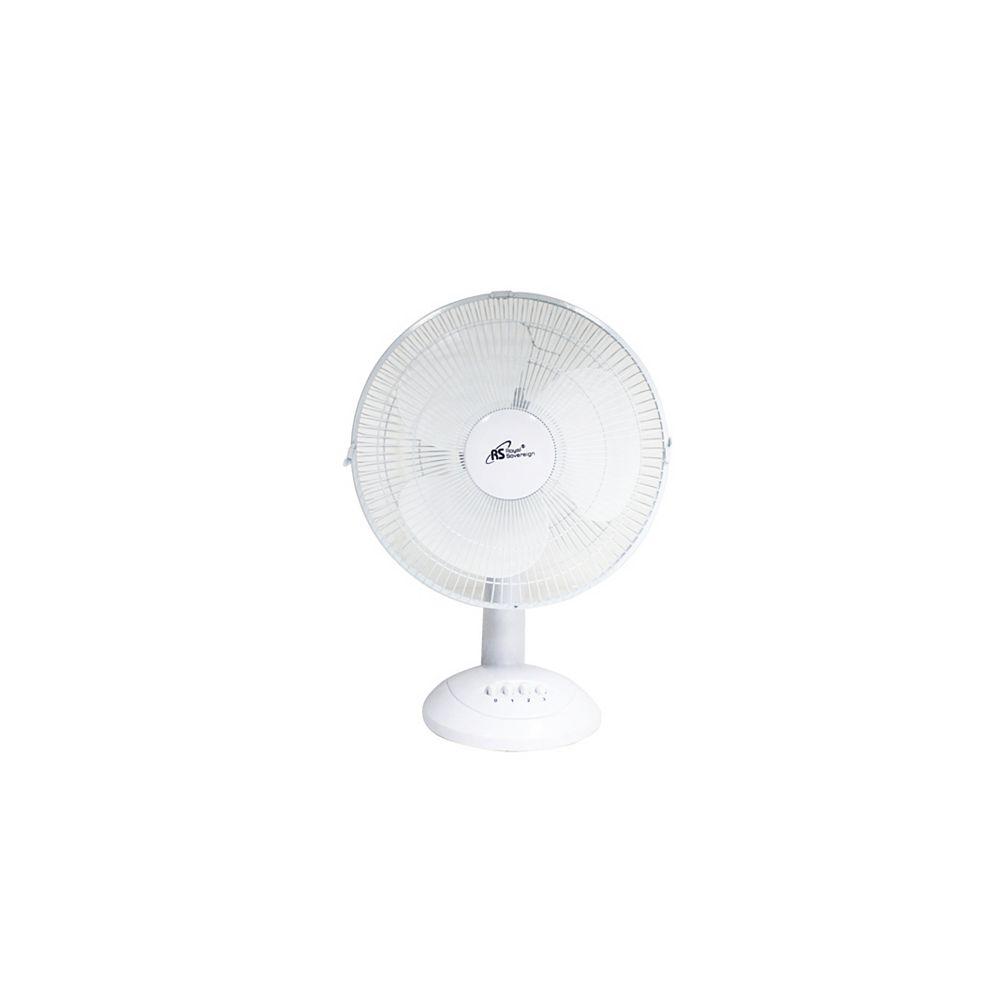 Royal Sovereign Ventilateur oscillant 12 po de bureau