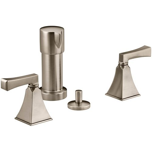 Memoirs Stately Bidet Faucet with Deco Lever Handles