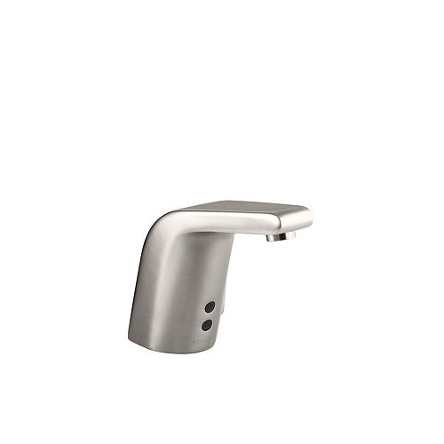 Sculpted single-hole Touchless(TM) DC-powered commercial bathroom sink faucet with Insight(TM) technology
