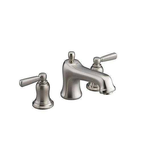 Bancroft(R) bath faucet trim for deck-mount high-flow valve with non-diverter spout