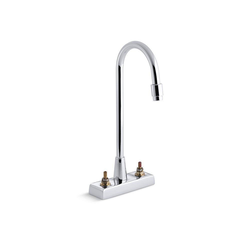 Kohler Triton Centreset Bathroom Faucet With Aerator The Home Depot Canada