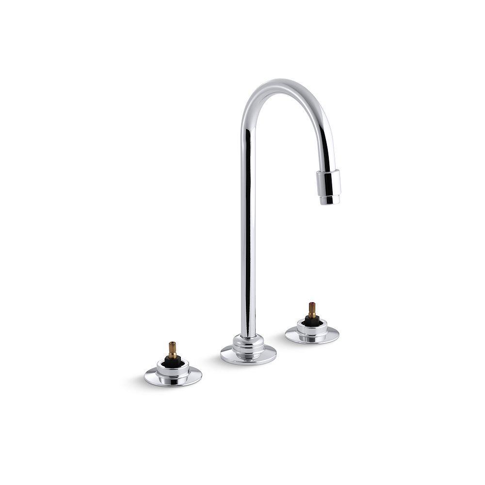 KOHLER Triton Widespread Bathroom Faucet with Flexible Connections