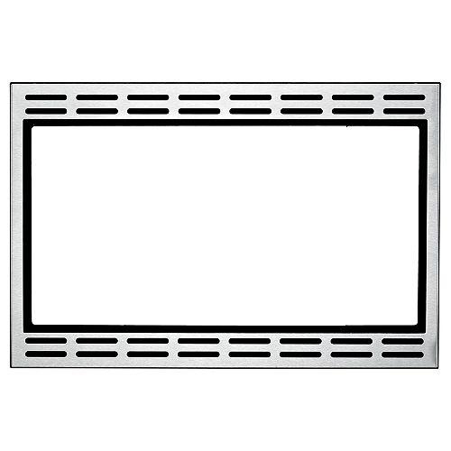 Kit de garniture pour micro-ondes de 24 pouces en acier inoxydable