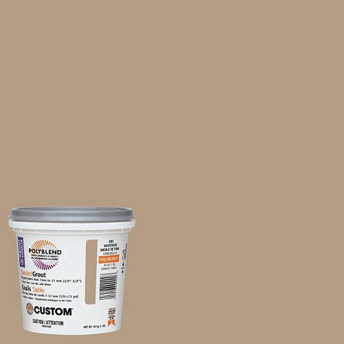 Custom Building Products #380 Haystack Sanded Grout 1 Lb.