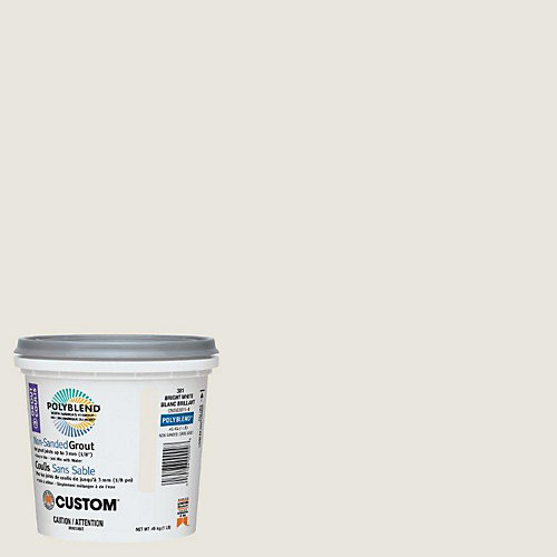 #381 Bright White Non-Sanded Grout 1 Lb.