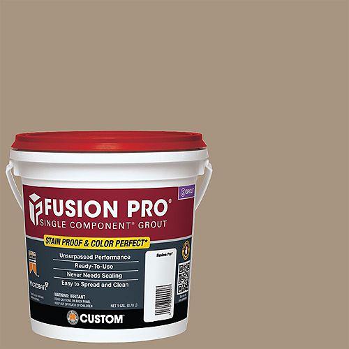 Custom Building Products #145 Light Smoke Fusion PRO - 1 Gal.