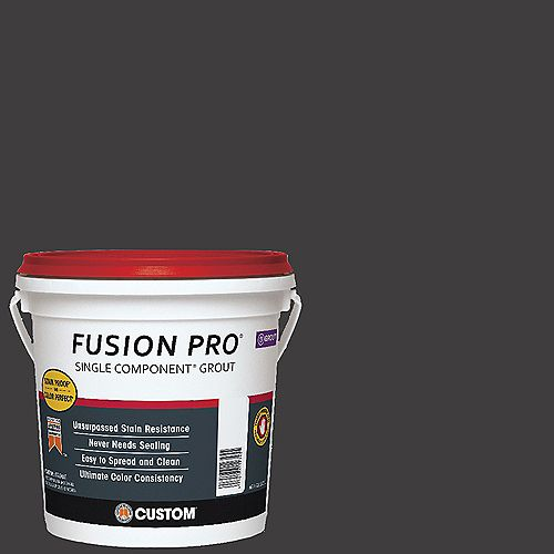 Fusion Pro #60 Charcoal 1 Gal. Single Component Grout