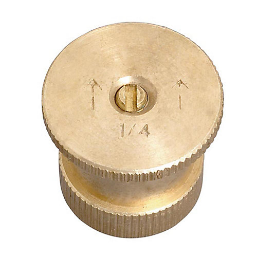15 ft. Quarter Pattern Brass Nozzle
