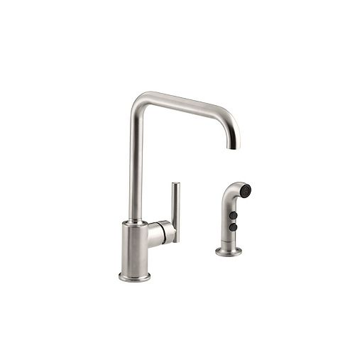 Purist Primary Swing Spout With Spray